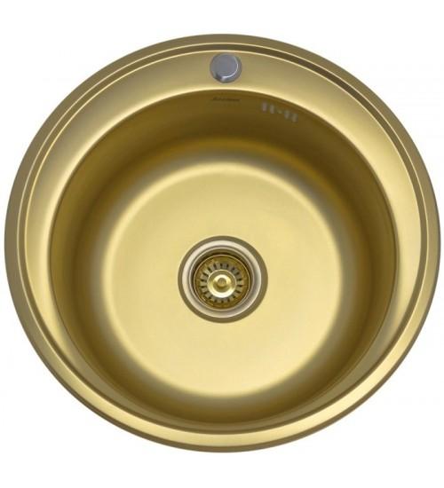Кухонная мойка Seaman Eco Wien SWT-510 Antique Gold (Matt *12)