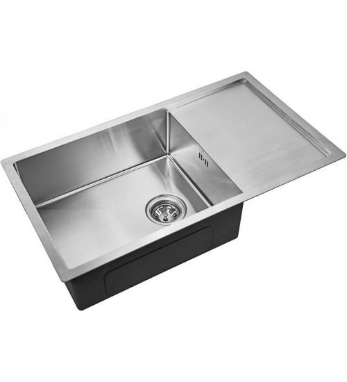 Кухонная мойка Zorg R 7844 Матовая сталь