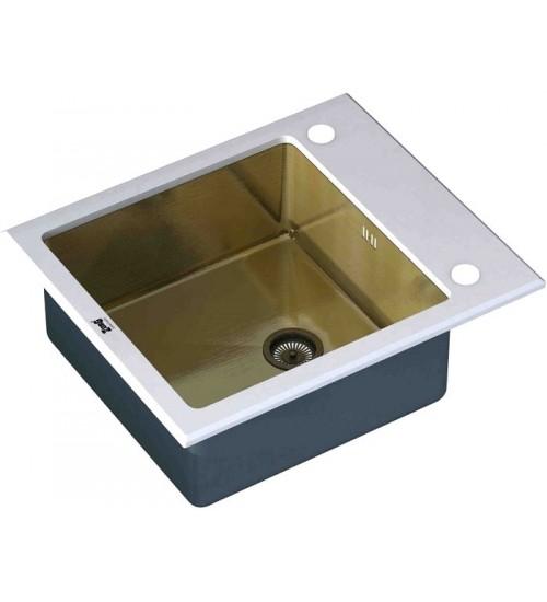 Кухонная мойка Zorg GL 6051 White Broze