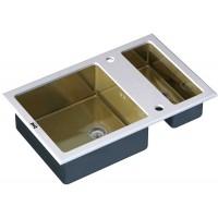 Кухонная мойка Zorg GL 8051-2 White Bronze
