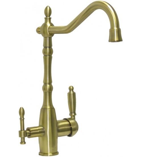 Кухонный смеситель Seaman Barcelone SSL-5387 Antique Gold