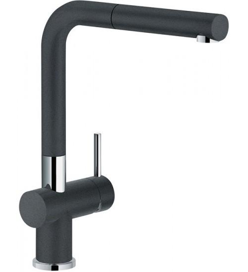 Кухонный смеситель Franke Active Plus Оникс (Выдвижной душ)