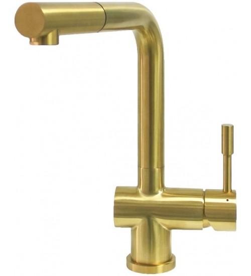 Кухонный смеситель Seaman Eco Venice SSN-0912P Gold