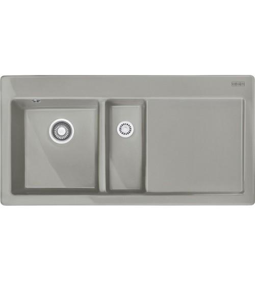 Кухонная мойка Franke Mythos MTK 651-100 L Жемчужный серый
