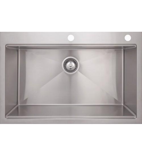 Кухонная мойка Seaman Eco Marino SMB-8052SK, вентиль-автомат, коландер SSA-A150