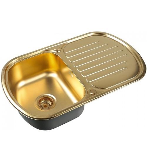 Кухонная мойка Zorg SZR 7749 Bronze