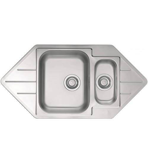 Кухонная мойка Alveus Line 40 Нержавеющая сталь 1065674