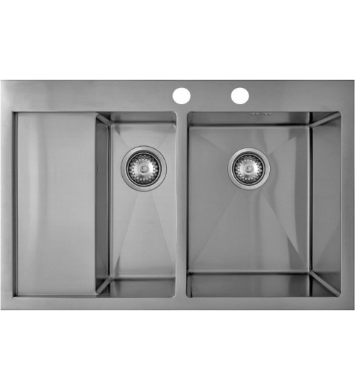 Кухонная мойка Seaman Eco Marino SMB-7851DLS, вентиль-автомат