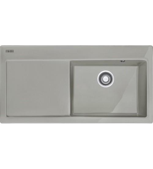 Кухонная мойка Franke Mythos MTK 611-100 R Жемчужный серый