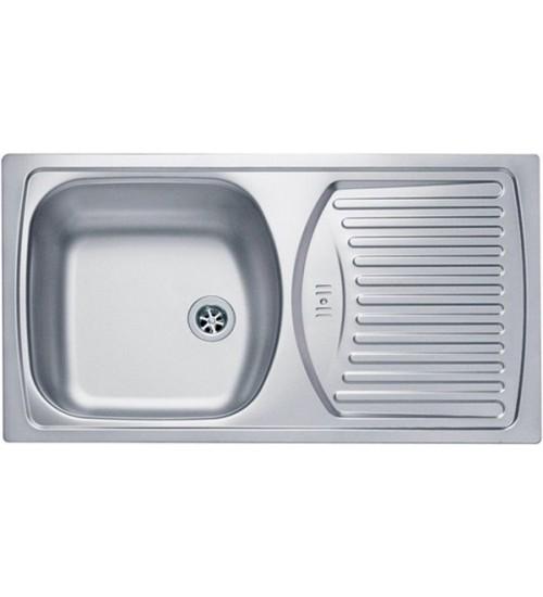 Кухонная мойка Alveus Basic 150 Нержавеющая сталь матовая 1136530