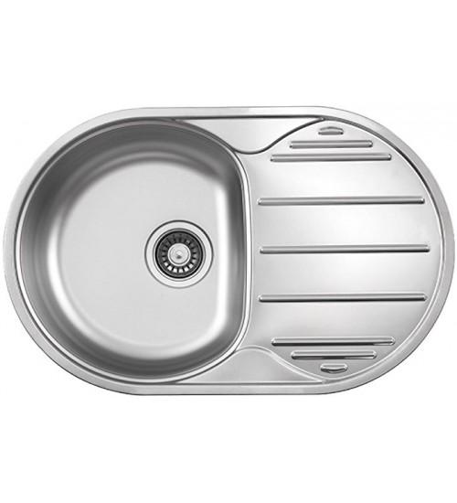 Кухонная мойка Florentina Глория 780.500 Нержавеющая сталь декор