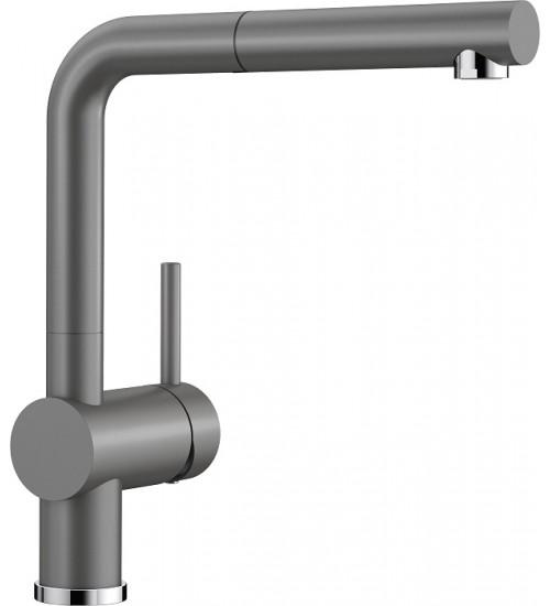 Кухонный смеситель Blanco Linus-S Базальт (керамика) 517643