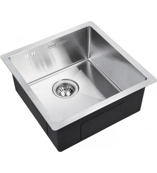 Кухонная мойка Zorg R 4444 Матовая сталь