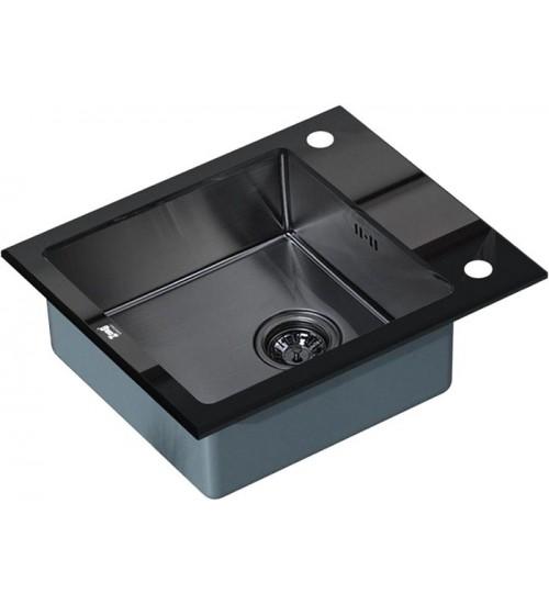 Кухонная мойка Zorg GL 6051 Black Grafit