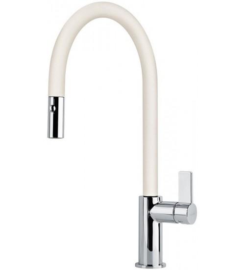 Кухонный смеситель Franke Ambient pull-out Ваниль (Выдвижной душ)