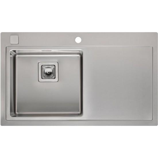 Кухонная мойка Reginox Phoenix 40 L Lux Left Полированная нержавеющая сталь