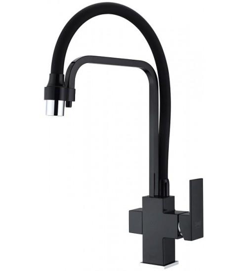 Кухонный смеситель Zorg ZR 341-6 YF Черный