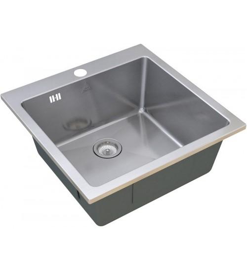 Кухонная мойка Zorg SH R 5151 Glowe Матовая сталь