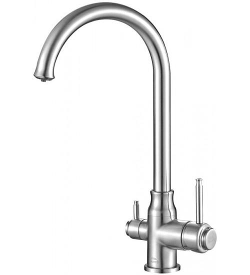 Кухонный смеситель Zorg Steel Hammer SH 763 Хром
