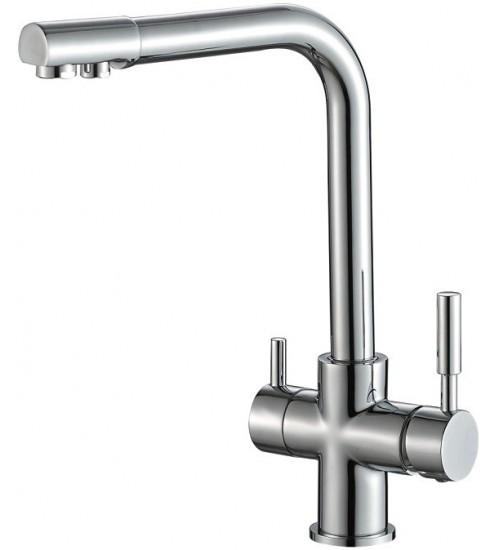 Кухонный смеситель Zorg Steel Hammer SH 552 Хром
