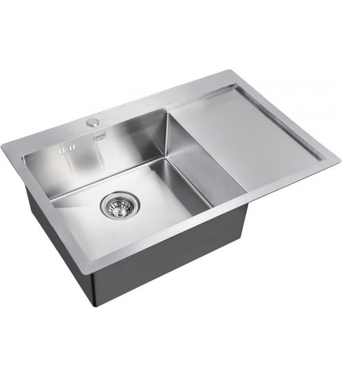 Кухонная мойка Zorg R 7851 L Матовая сталь