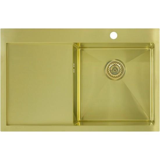 Кухонная мойка Seaman Eco Marino SMV-780L Light Gold (PVD)
