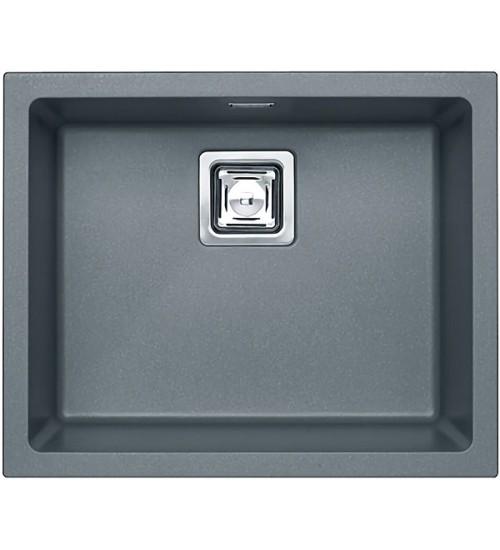 Кухонная мойка Alveus Quadrix Granital+ 50 Steel 1108037