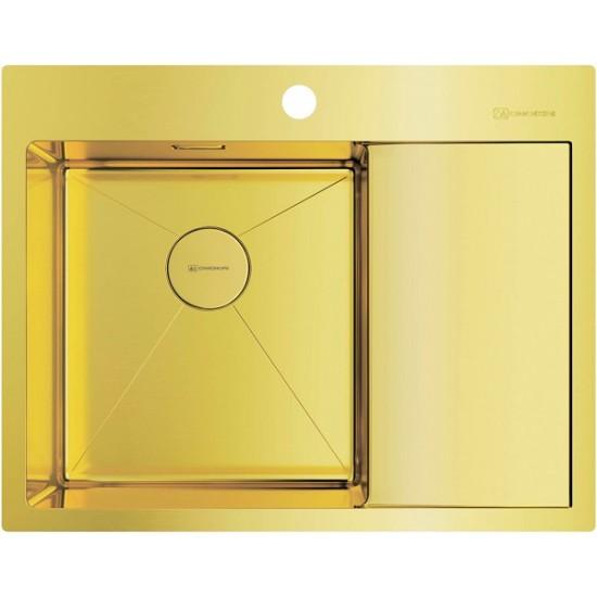 Мойка Omoikiri Akisame 65-LG-L Светлое золото