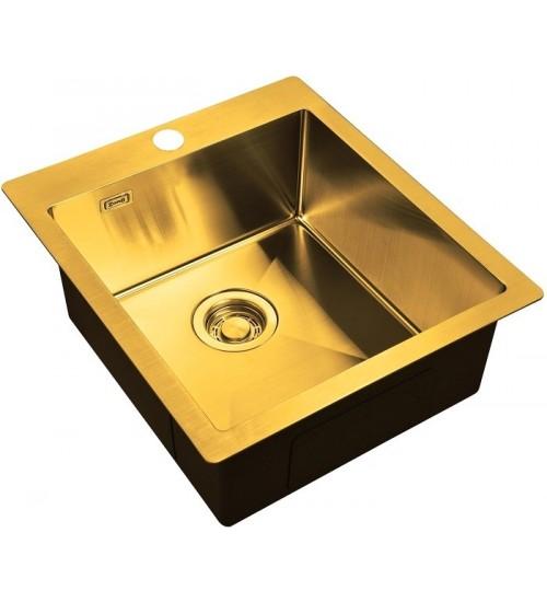 Кухонная мойка Zorg ZL R 450510 Bronze