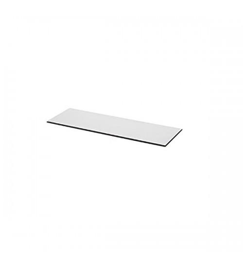 Декоративная накладка для полок, средняя Kessebohmer 00 8932 0358, 350х106, 5х4 мм, дымчатое стекло