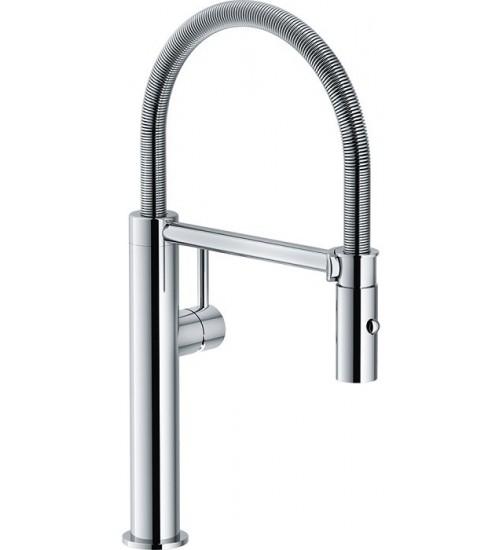 Кухонный смеситель Franke Pescara Semipro L Хром (Выдвижной душ)
