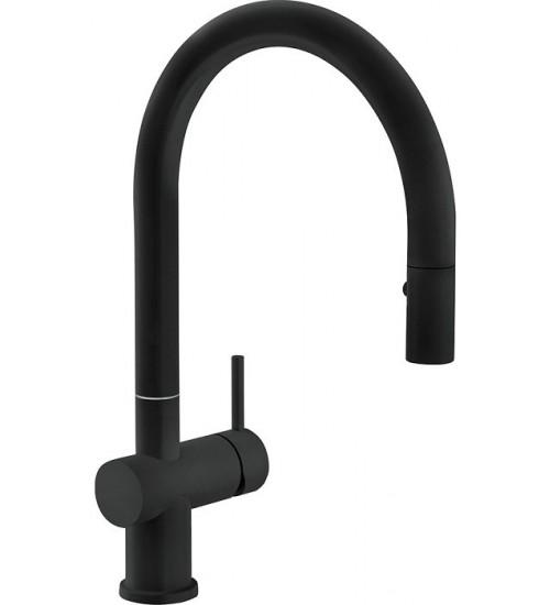 Кухонный смеситель Franke Active Neo Черный матовый (Выдвижной душ)
