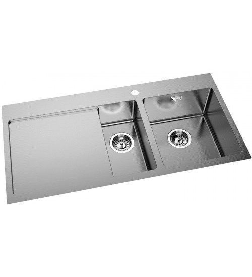 Кухонная мойка Oulin OL-FTRL201R Нержавеющая сталь