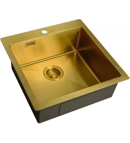 Кухонная мойка Zorg ZL R 510510 Bronze