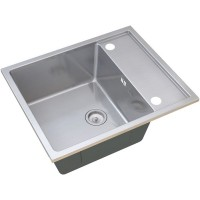 Кухонная мойка Zorg SH R 6050 Luxe Матовая сталь