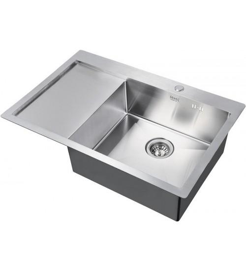 Кухонная мойка Zorg R 7851 R Матовая сталь