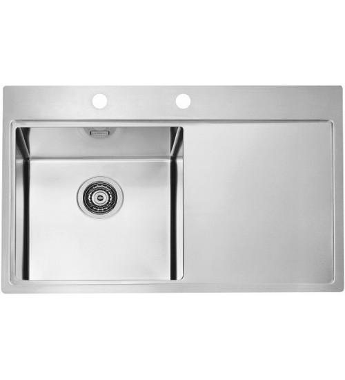 Кухонная мойка Alveus Pure 40 L Нержавеющая сталь 1103610