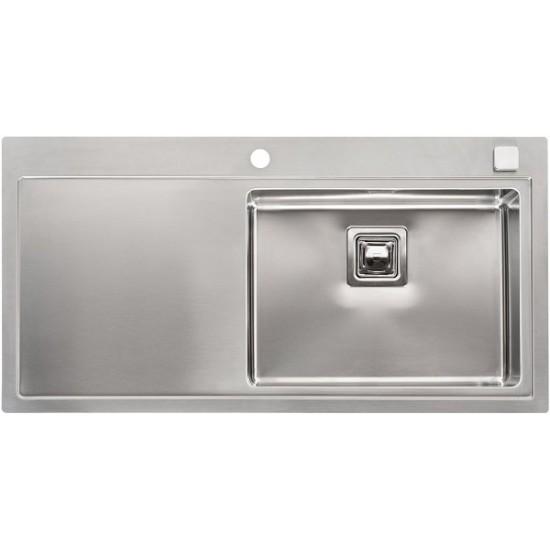 Кухонная мойка Reginox Phoenix 50 L Lux Right Полированная нержавеющая сталь