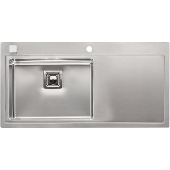 Кухонная мойка Reginox Phoenix 50 L Lux Left Полированная нержавеющая сталь