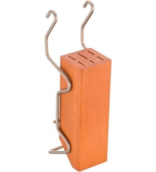 Держатель для ножей Lemi 31408 матовый хром