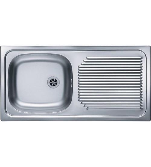 Кухонная мойка Alveus Basic 60 Нержавеющая сталь декор 1009181