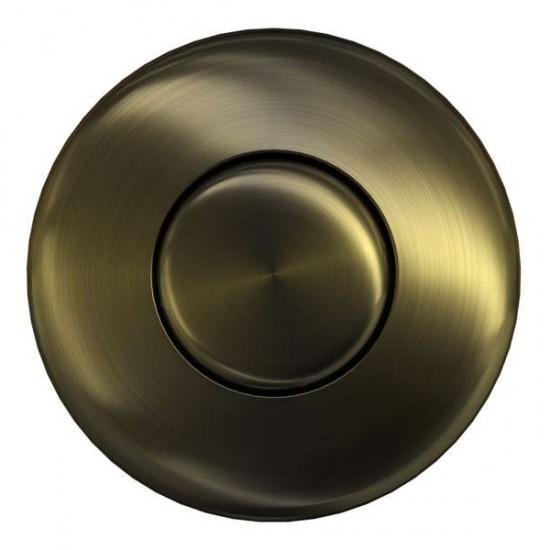 Пневматическая кнопка для измельчителя Omoikiri SW-01 AB-Античная латунь