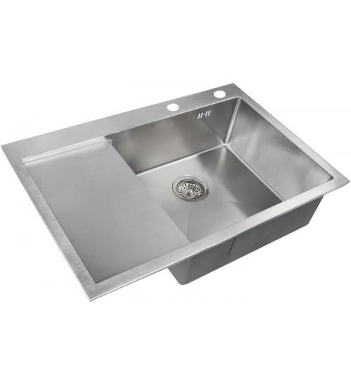 Кухонная мойка Zorg RX 7851 R Матовая сталь