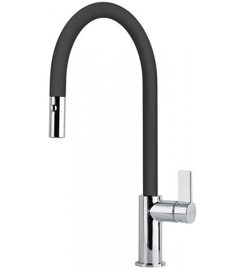 Кухонный смеситель Franke Ambient pull-out Оникс (Выдвижной душ)