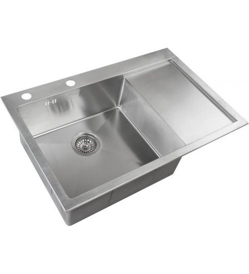 Кухонная мойка Zorg RX 7851 L Матовая сталь
