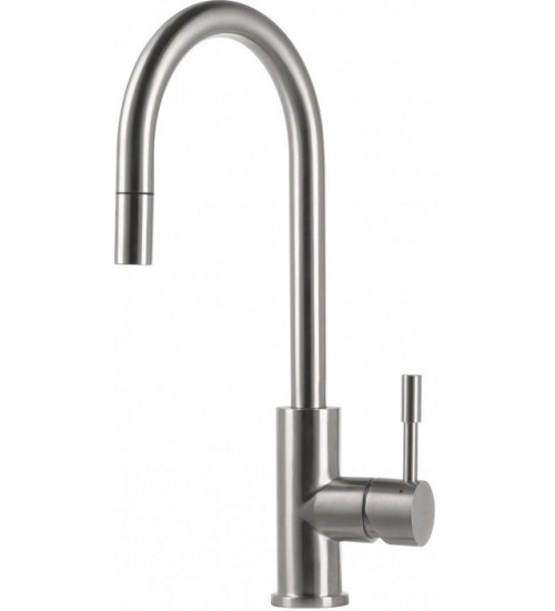 Кухонный смеситель Franke Eos Нержавеющая сталь (Выдвижной душ)