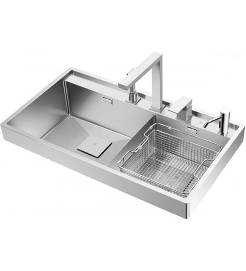 Кухонная мойка Oulin OL-G6201 Нержавеющая сталь