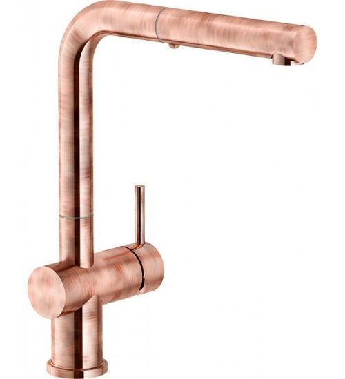 Кухонный смеситель Franke Active Plus Античная медь (Выдвижной душ)