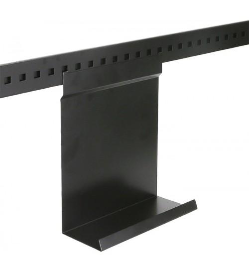 Полка для разделочной доски Поконар 250х120х320 мм, отделка черный бархат (матовый) 1A.3014.9005