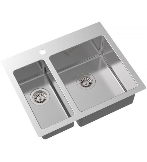 Кухонная мойка Oulin OL-FTR202R Нержавеющая сталь